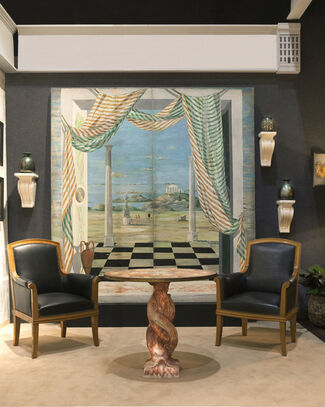 Maison Gerard at Winter Antiques Show 2015, installation view