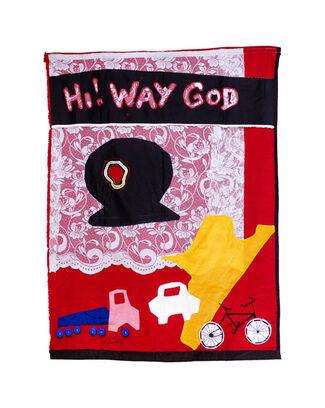 Akikakika: Aphorism in contemporary Asafo Flag Art, installation view