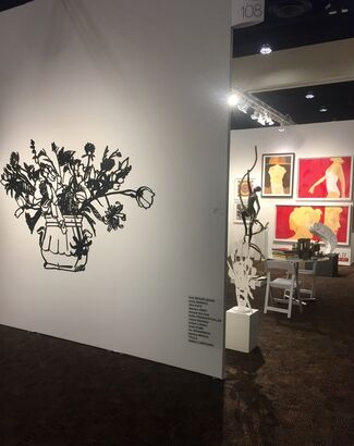 Adamar Fine Arts at Art Palm Springs 2019, installation view