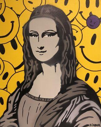 Mona Lisa project by JISBAR @ Galerie Montmartre, installation view