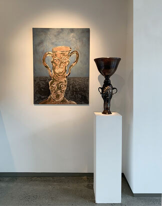 AN ALTERNATIVE HISTORY: The Other Glass, curated by John Drury, installation view