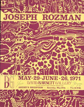 Joseph Rozman, installation view