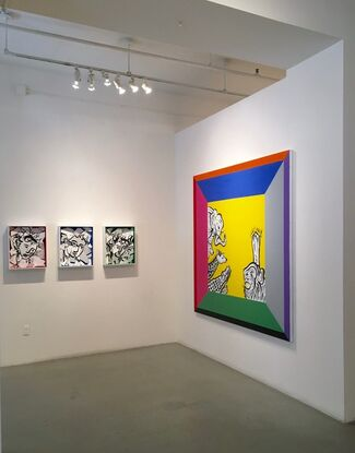 Charade, installation view