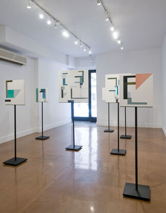Shadow Structures, installation view