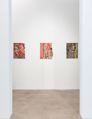 Roland Reiss: Je T'aime - Recent Paintings + Drawings From The 1960's, installation view