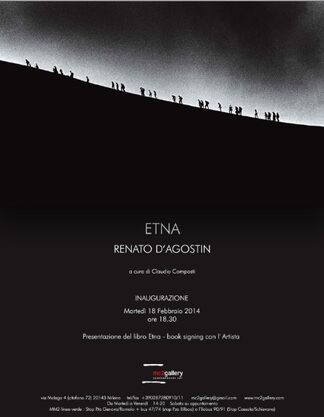 Renato D'Agostin - ETNA, installation view