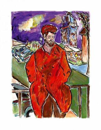 Bob Dylan's Drawn Blank Series, installation view
