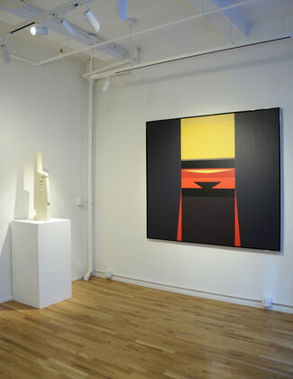 Edges and Angles, installation view