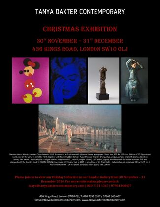 Christmas Exhibition, installation view