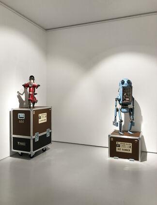 Rent A Bot, installation view