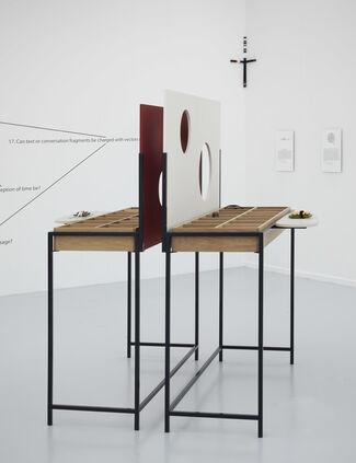 Falke Pisano: The Value in Mathematics, installation view