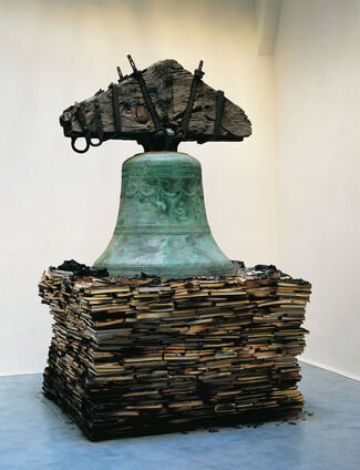 """Claudio Parmiggiani   """"Gloria di Cenere"""", installation view"""