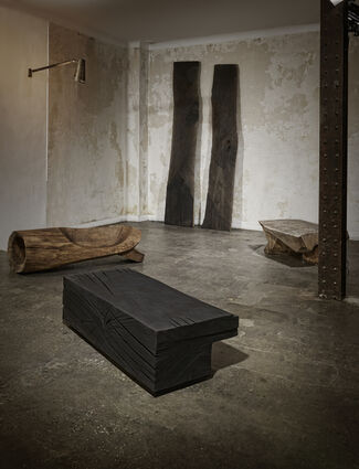 Denis Milovanov, installation view