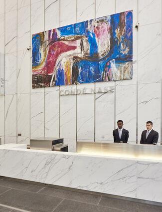 Art in One World Trade Center, installation view