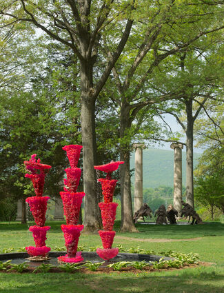 Lynda Benglis: Water Sources, installation view