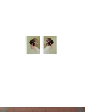 "Vivian Greven ""False Head"", installation view"