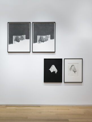 Karl Haendel & Jay DeFeo: Pink Cup and The Facts, installation view