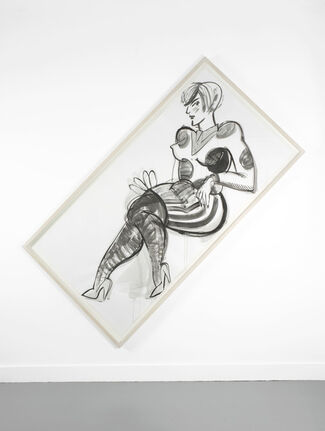 How To Work Together: Ella Kruglyanskaya, installation view
