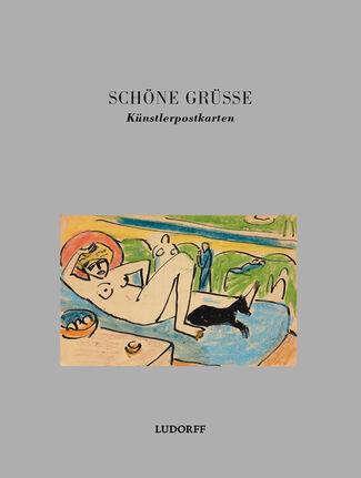 Schöne Grüße. Artist postcards, installation view
