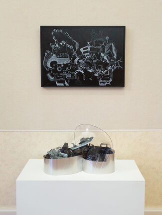 In Black and White, installation view