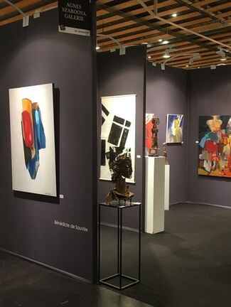 Agnès Szaboova Gallery at Art Up! Lille 2018, installation view