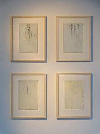 Yves Beaumont - solo show with new paintings and works on paper, installation view