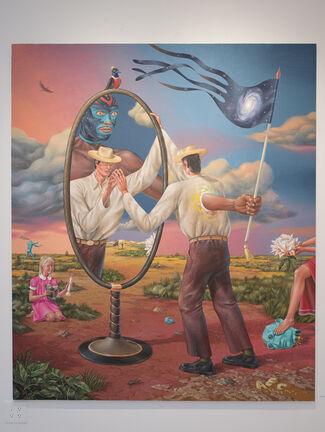 """AEC Interesni Kazki: """"The Earth is Flat"""", installation view"""