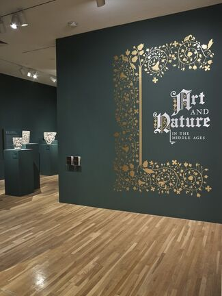 Art and Nature in the Middle Ages, installation view