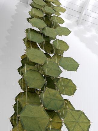 "Jacob Hashimoto - ""Foundational Work"", installation view"