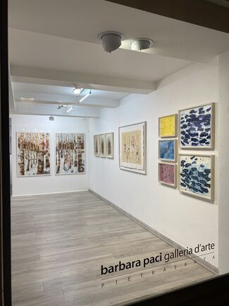 Paper moods, installation view