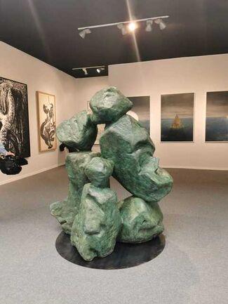 A2Z Art Gallery at Art Paris 2020, installation view