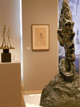 In Giacometti's Studio: An Intimate Portrait, installation view