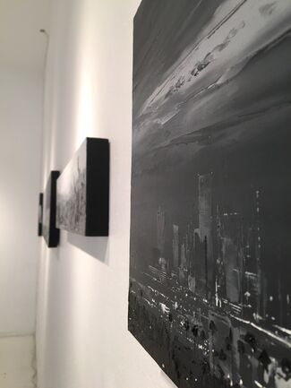 Sky Without Angels or Stars, installation view