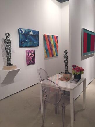 Tangent Contemporary Art at Art Wynwood 2015, installation view