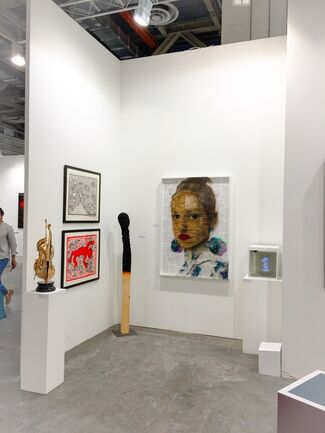 Mark Hachem Gallery at Art Central 2017, installation view