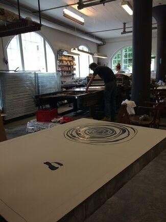 Chiharu Shiota New Original Lithographs, installation view