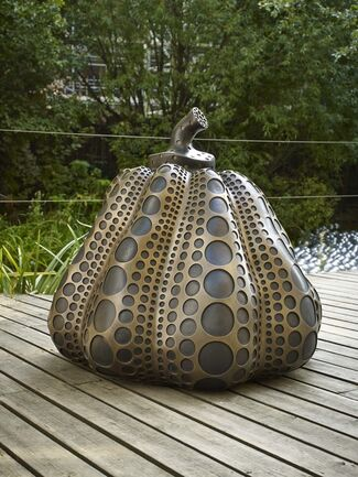 Yayoi Kusama: Pumpkins, installation view