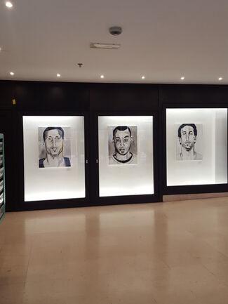 Klaus Verscheure 'Smiling Faces', installation view