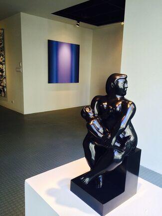 BLACK + BLUE, installation view