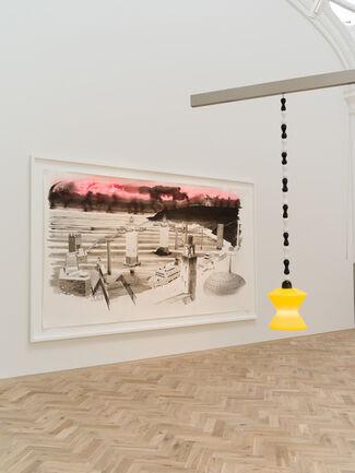 Charles Avery: The Gates of Onomatopoeia, installation view