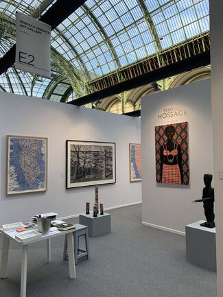 Rebecca Hossack Art Gallery at Art Paris 2020, installation view