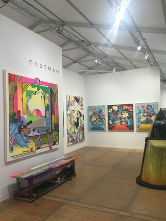 Gastman at Art Southampton 2016, installation view