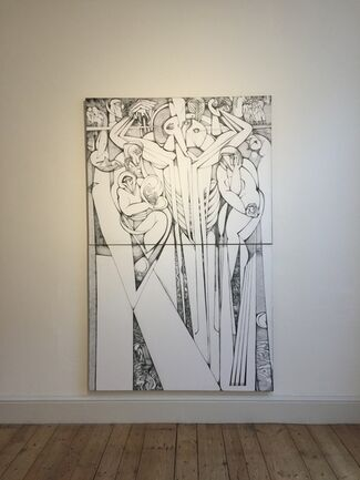 Vigo Gallery at 1:54 Contemporary African Art Fair London 2015, installation view