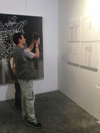 Artfooly at Art Athina 2017, installation view
