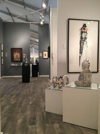 Long-Sharp Gallery at Art Wynwood 2019, installation view