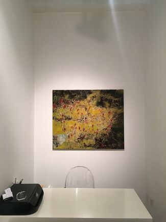 Kissing The Sun: Paintings by Ayline Olukman, installation view
