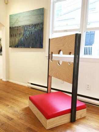 Megan Hinton, Forrest Williams, Richard Dorff and Rick Wrigley, installation view