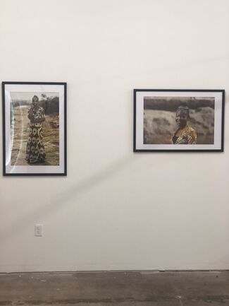Out of the Mines, installation view