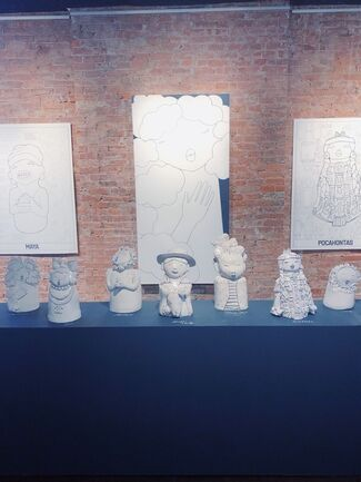 Hazy Mae, installation view