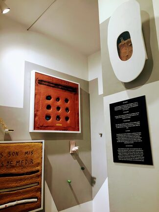 """""""El camino"""", installation view"""